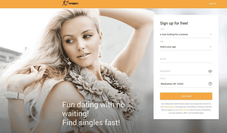 No membership free dating sites